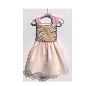 Rhinestone Princess Tulle Dress Size 3T